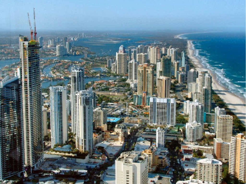 IN OUR SHADOW: The Sunshine Coast has outperformed the Gold Coast.