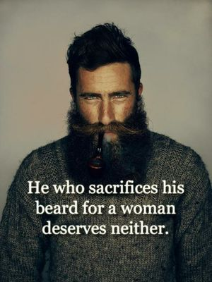 Know thyself and thy desire for a beard