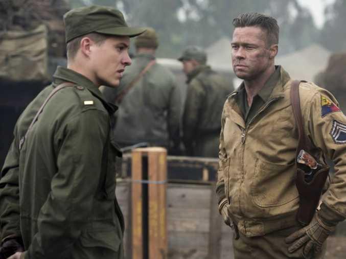 Brad Pitt stars in David Ayer's World War II drama Fury