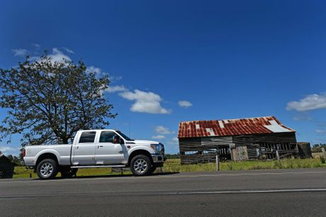 Performax Ford F-250 Lariat at home on the open road in the Mary Valley, Qld.