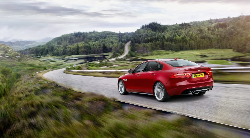 The 2015 Jaguar XE