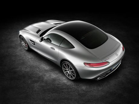 The 2015 Mercedes-AMG GT