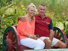 Darryl and Daphne Kelley relax in their award-winning gardens.