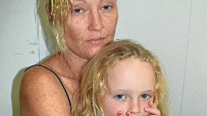 HELPER: Debbie McDonald and daughter Sienna Goldstone.