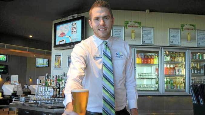 ON TRACK: Harrup Park Country Club operations manager Cody Coulton will complete a Diploma of Management from the Club Super Leadership Institute.