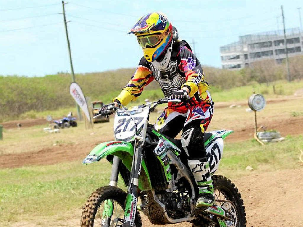 UP IN THE AIR: The Mackay and District Motocross Club's lease won't be renewed in 2016, but the club doesn't know why.