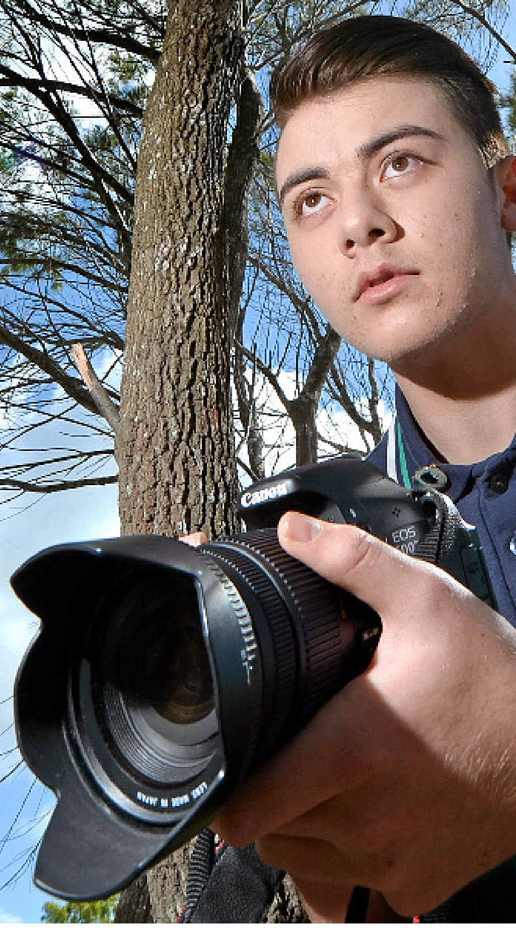 BRIGHT TALENT: Sunshine Beach High School student Jake Lofven is making waves with his filmmaking.