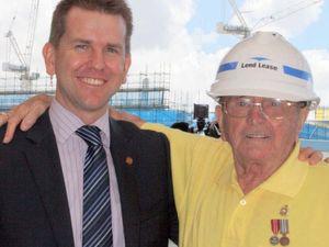 Crane honours the life of Brian