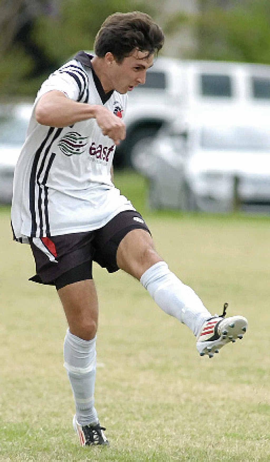IN GRAND FINAL: Richmond Rovers striker Jonathan See.