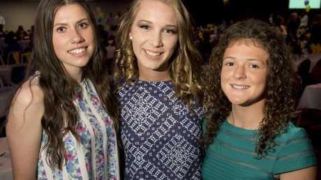 Bella Neil, Amelia Cooke and Tiffany Dibley.