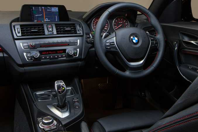 Inside the new BMW 220i.