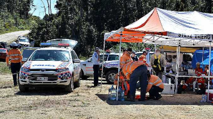 The SES search command post at Eungella was dismantled after missing man Peter Paynter was reported safe and well at the weekend.