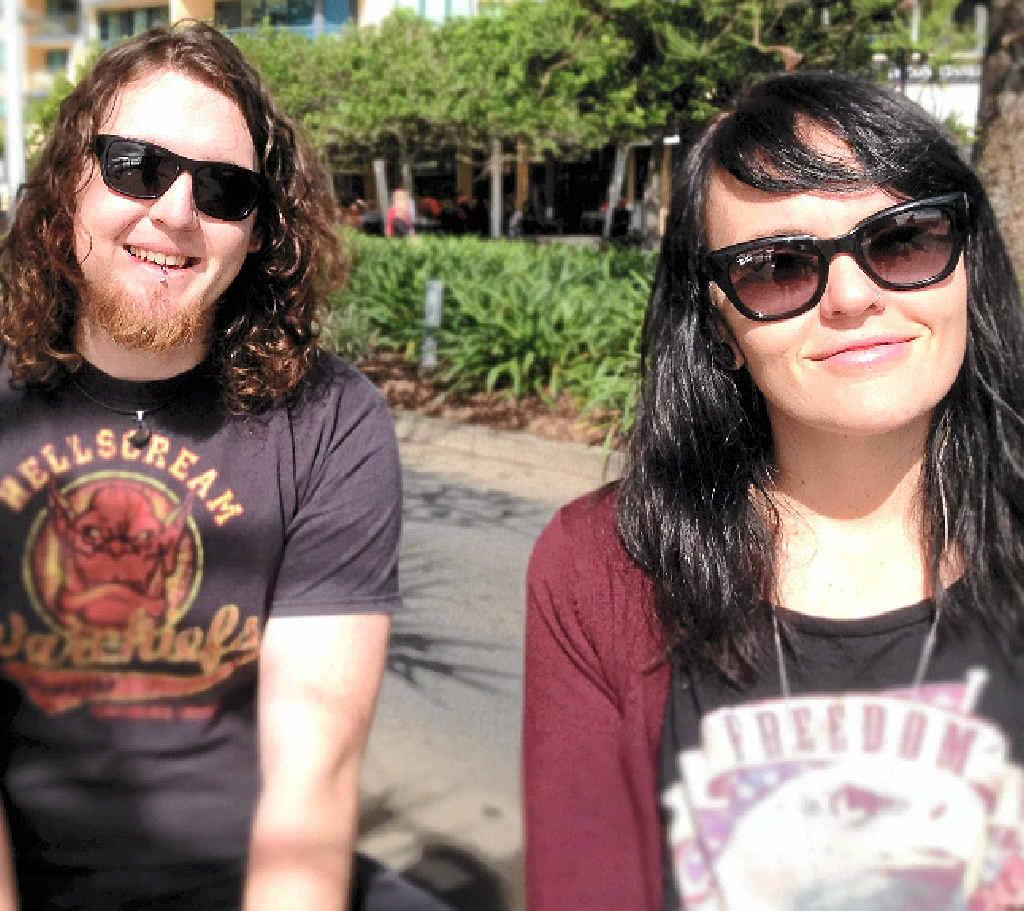 HOPEFUL: Artists Jessica and Matthew Doak, of Buderim, are rapt to be finalists.