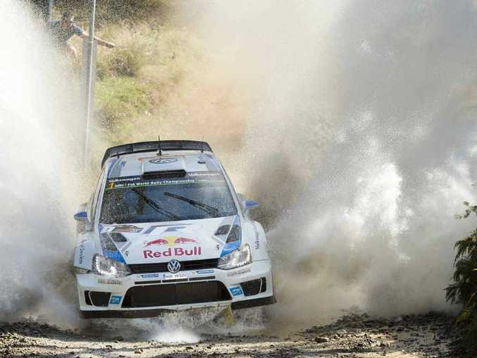Reigning world champion Sebastien Ogier is a strong chance of securing another title when the World Rally Championship comes to the Coffs Coast next month.
