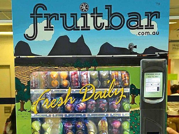fruit bar vending machine