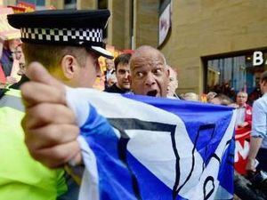 Scots ready to protest referendum no vote