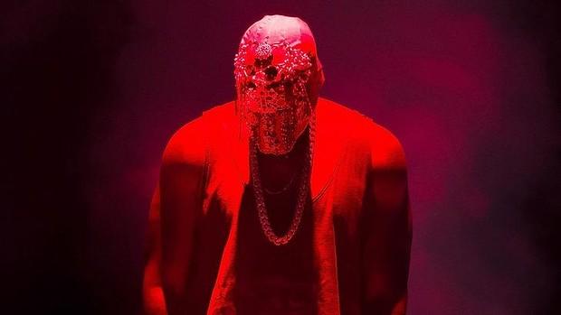 Kanye West in concert