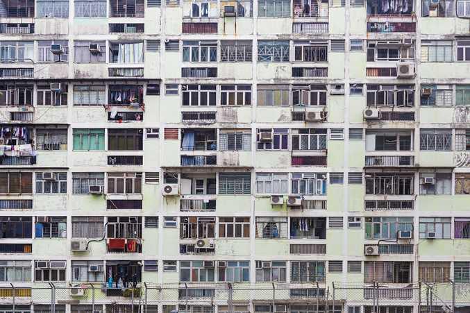 Hong Kong building.