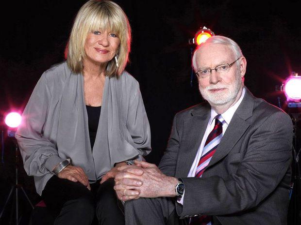 Margaret Pomeranz and David Stratton host At The Movies.