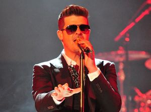 Robin Thicke lied about writing Blurred Lines