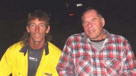 Jeffrey Croft (left) and Mark Ciufici were killed when their vehicle crashed into a light pole on the New England Highway on Friday night. Photo Contributed