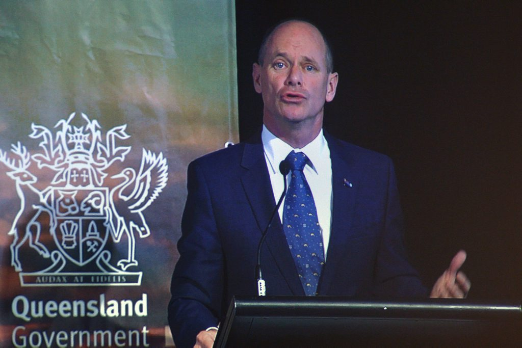 Honorable Campbell Newman MP, Premier of Queensland in Noosa for the Destination Q conference. Photo: John McCutcheon / Sunshine Coast Daily