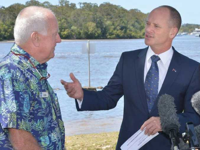 Premier Campbell Newman in Noosa earlier this month