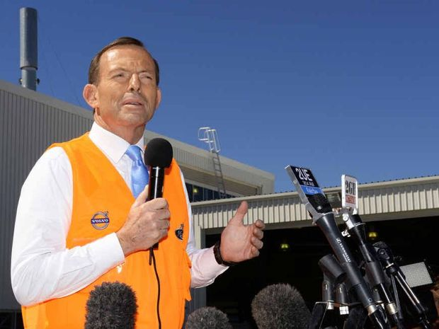 UNPOPULAR RESPONSE: An APN poll has revealed Ipswich is not happy with Tony Abbott's performance as prime minister.