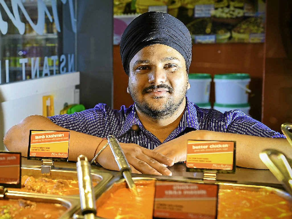WELCOME: Ranjit Singh is cooking up a new era in his life.