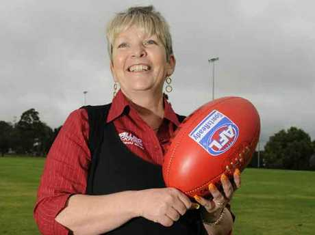 Heather Green is AFL Queensland's first Woman of the Year.
