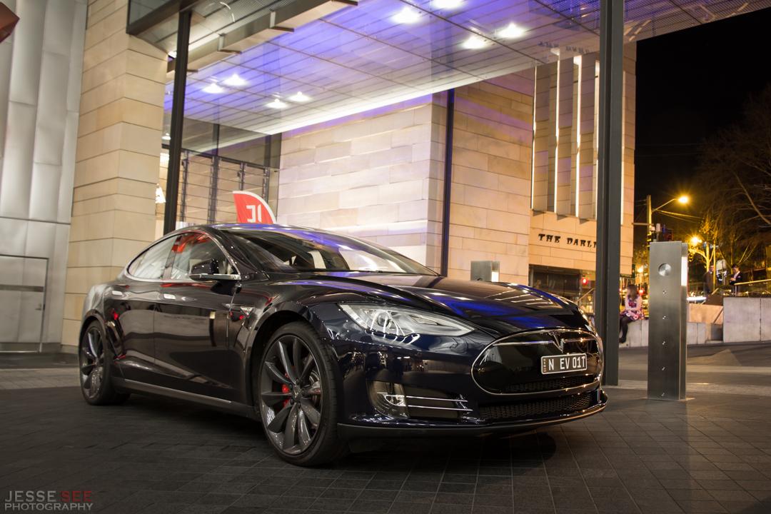 The 2014 Tesla Model S P85.