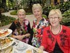 Shelley Haley, Pam West-Newman and Merryn Hodge at the Soroptimist International high tea.