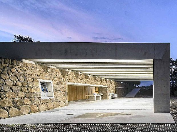 SHEDS ARE US: A millionaire's shed at the Lune de Sang property in Federal has been shortlisted in the National Architecture Awards.