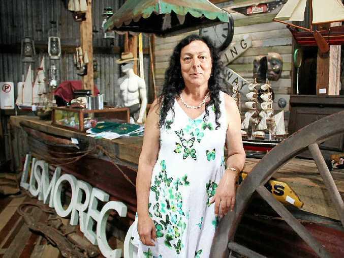 LOCAL HISTORY: Trading at Jasper's Peggy Johnson.