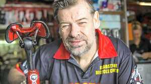 Gladstone Bicycle Centre owner Dave McIntosh.