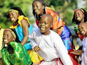 African children's choir spreads message of hope