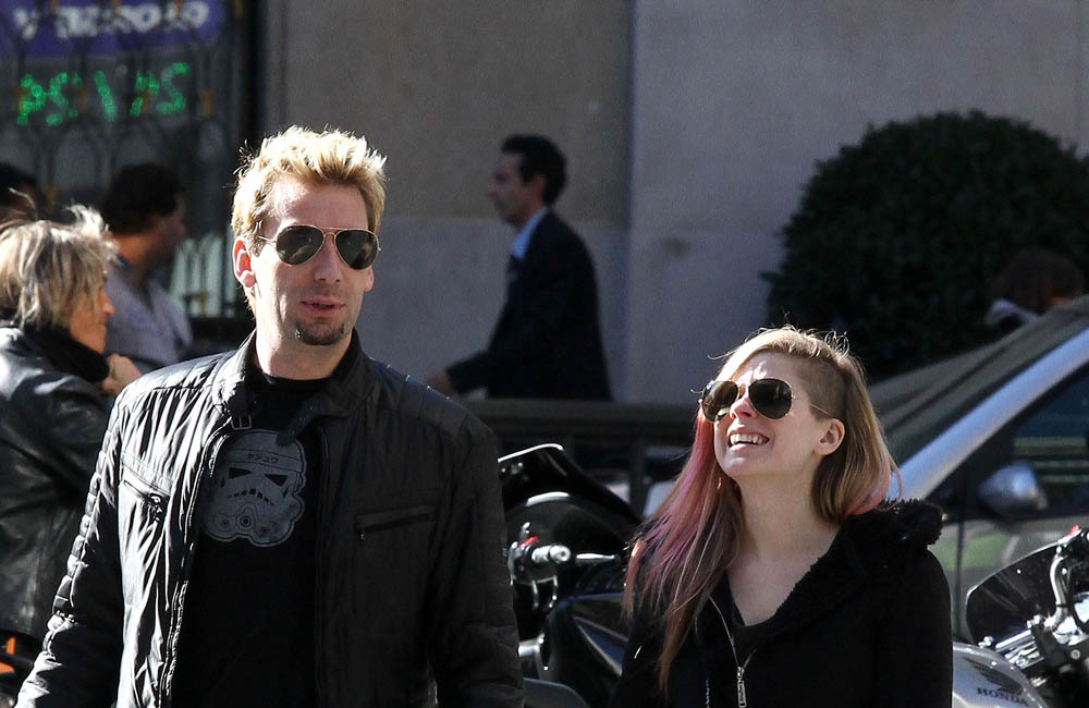 Chad Kroeger and Avril Lavigne