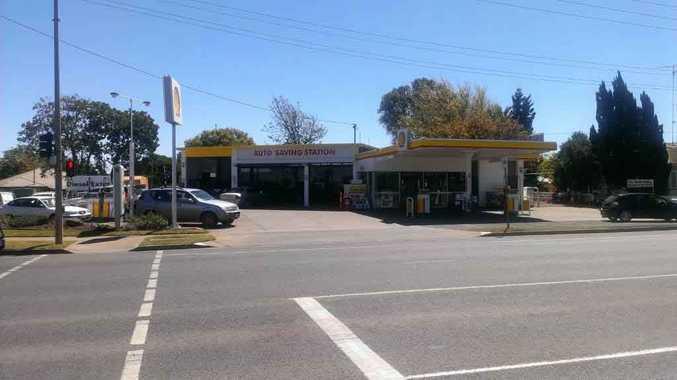 The Auto Saving Station on Anzac Av.