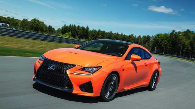 The V8-powered Lexus RC F will arrive next year.