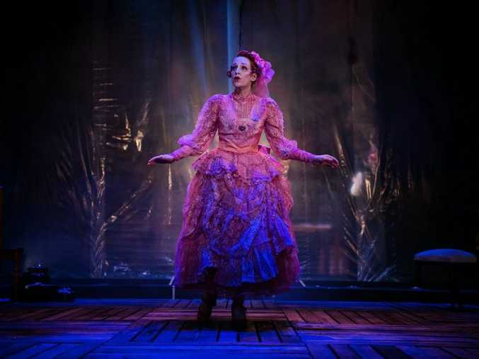 Helen Christinson plays Nora in A Doll's House at La Boite's roundhouse theatre during Brisbane Festival 2014. Pic: Contributed