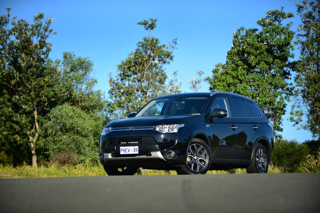 The Mitsubishi Outlander PHEV Aspire.