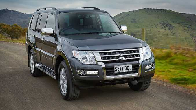 The Mitsubishi Pajero MY15.