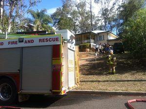 Bundamba home damaged in blaze