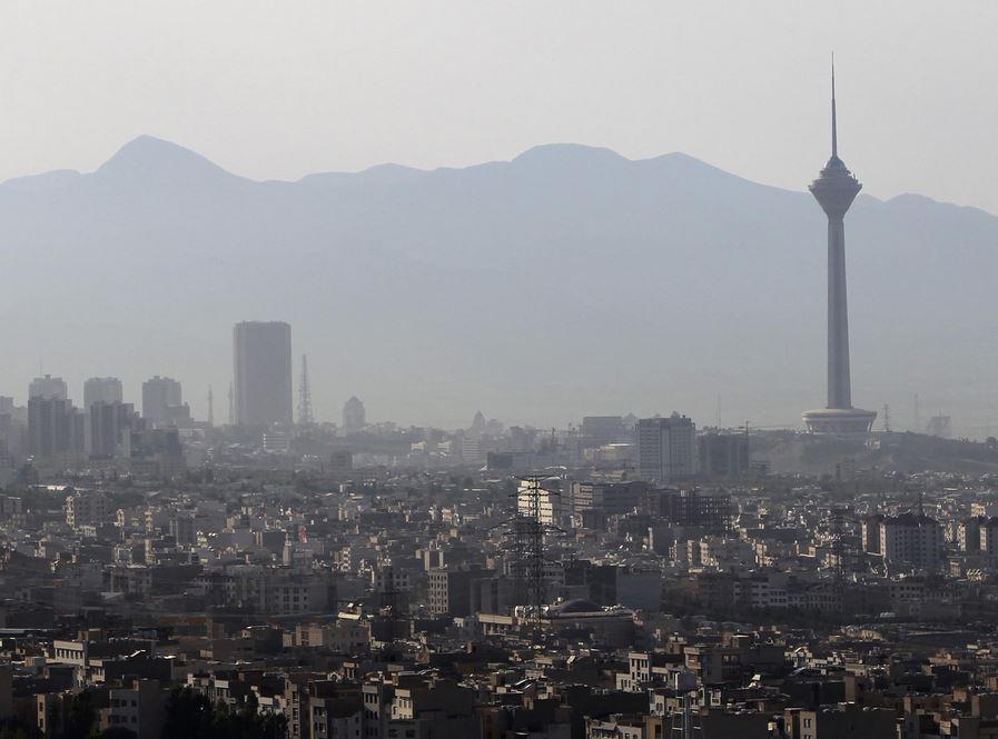 A view of Tehran, Iran