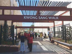 Kwong Sang laneway opened for Carnival
