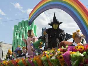 Woolworths judged grand champion Carnival of Flowers float