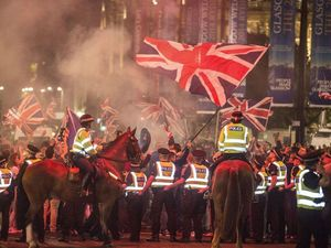 Twitter users post riot images as fake referendum aftermath