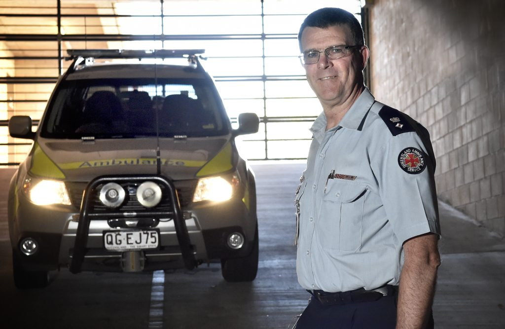 Darling Downs Local Ambulance Service Network executive manager of operations Superintendent Glen Maule.