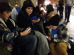 Why people camp out for the launch of Apple's latest gadgets