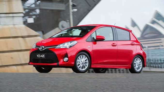 The 2014 Toyota Yaris.